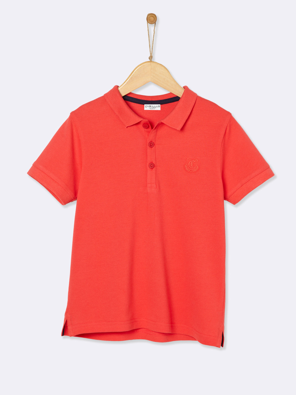 Red Polo Cyrillus - T-Shirt