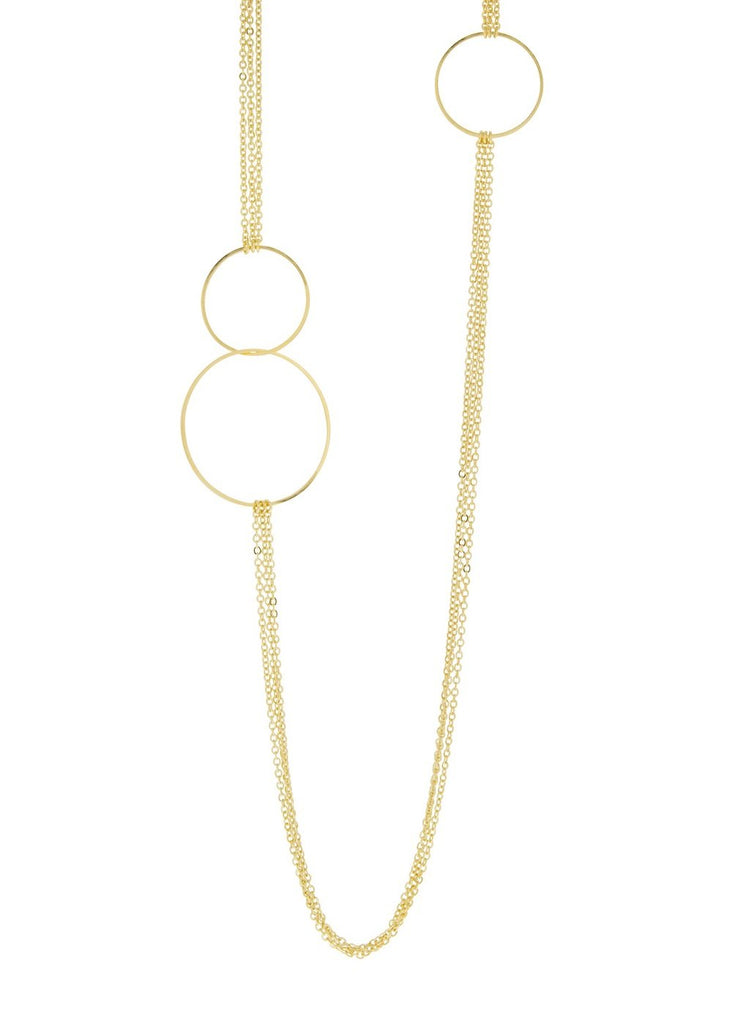 Ring Gold Necklace Lesprit Parisien - Necklace Lesprit Parisien