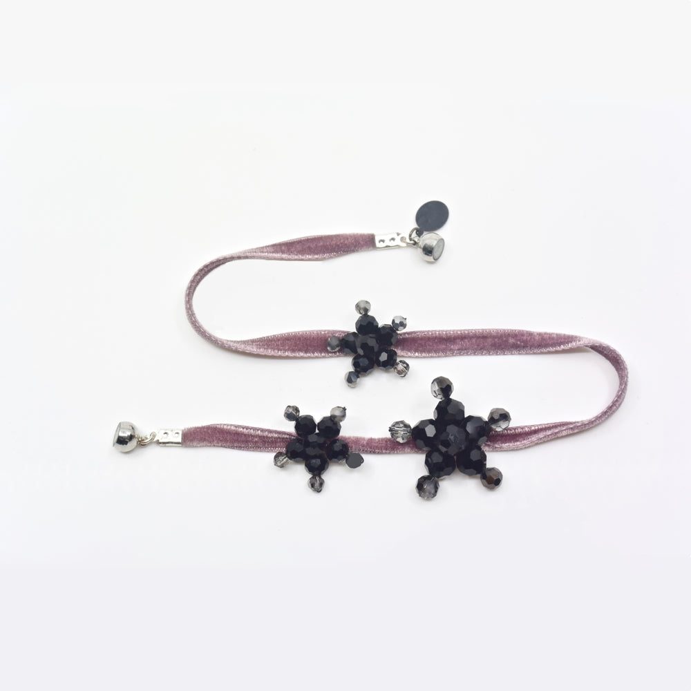 Popvelours Dusty Rose Bracelet Etone Design - Bracelet