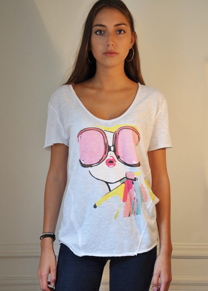T-Shirt Hippie Chic Be Parisian