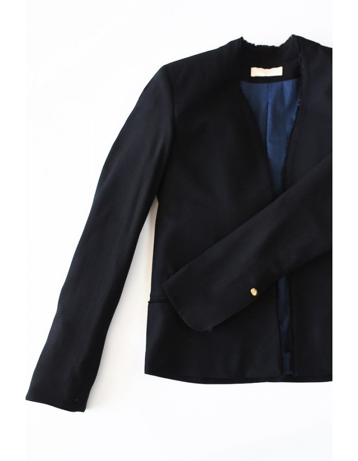 Lucie The Little Black Jacket Maison Jeanne - Jackets Maison Jeanne