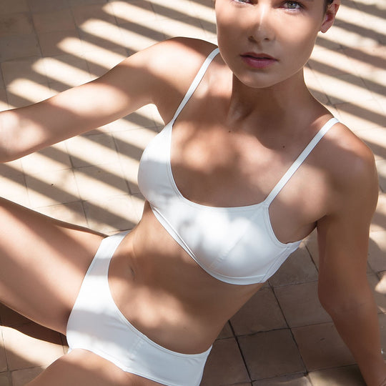 The White Brassiere Bikini Statice