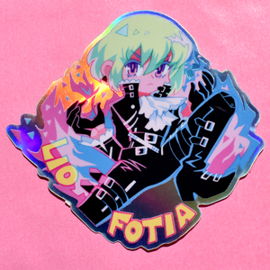 Promare Holographic Stickers