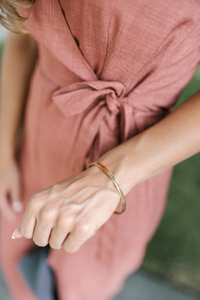 live your dream bangle