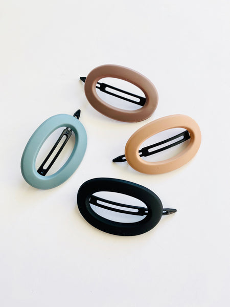 Lauren oval clip set