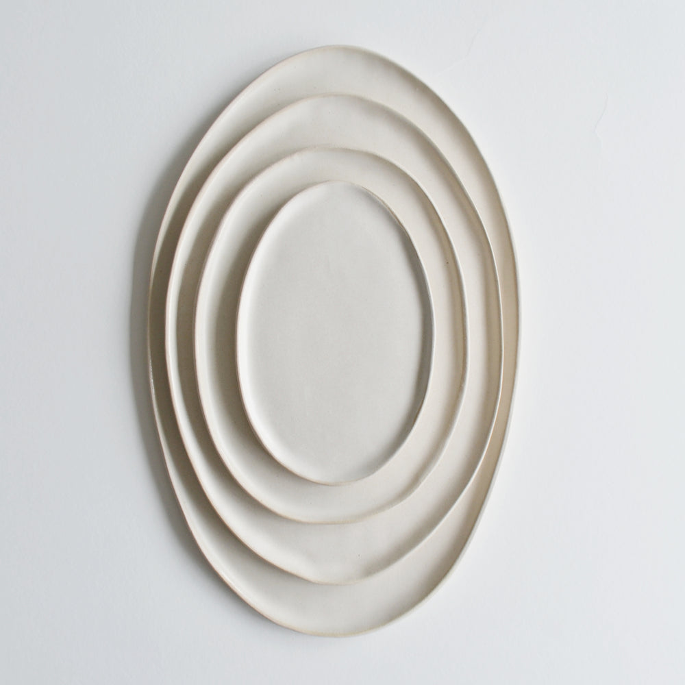Oval Serving Platter- Set of 4