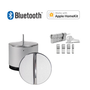 Danalock V3 Euro BT Apple HomeKit with Adjustable Cylinder