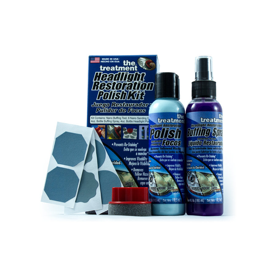 The Treatment Headlight Restoration Kit Review by Mini World Magazine