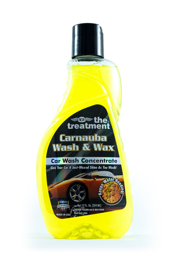 Mini World Tests The Treatment Carnauba Wash and Wax