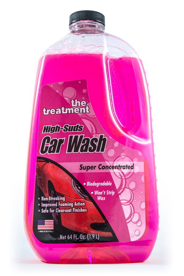 Mini World Review of The Treatment High-Suds Car Wash