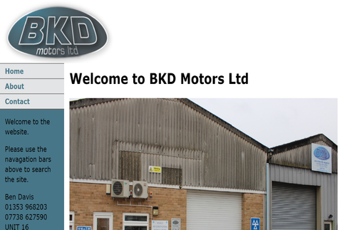 BKD Motors Littleport retail outlet for The Treatment Product Range