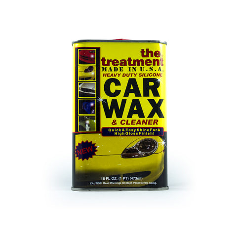 The Treatment® Heavy Duty Silicone Car Wax