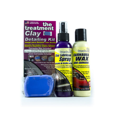 The Treatment Clay Detailing Kit