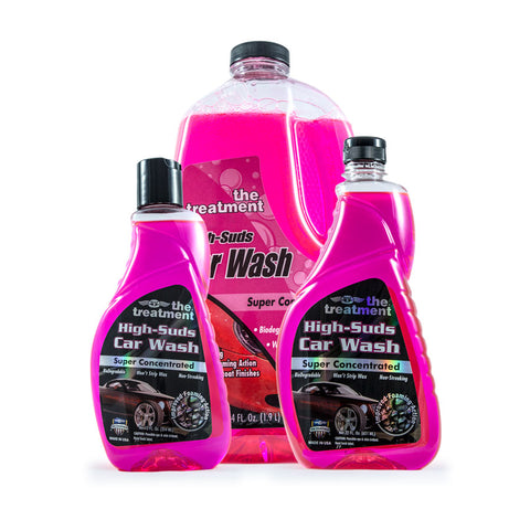 The Treatment® High-Suds Car Wash