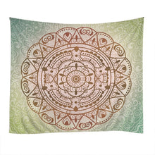 Psychedelic Indian Mandala Wall Hanging Tapestry