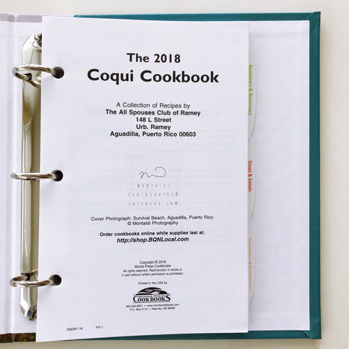 All Spouses Club of Ramey Coqui Cookbook