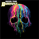 Melting Neon Skull Art, Bleeding Skull, Dripping Skull [T-shirt/Tank Top]-Over The Boardwalk Shirts