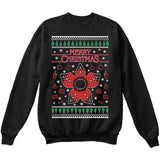Stranger Things Demogorgon | TV Show | Ugly Christmas Sweater [Unisex Crewneck Sweatshirt]-Crewneck Sweater (Unisex)-Black-Small-Over The Boardwalk Shirts