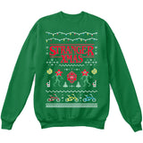 Stranger XMAS Things | TV Show | Ugly Christmas Sweater [Unisex Crewneck Sweatshirt]