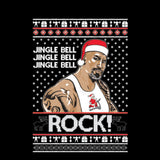 Jingle Bell Jingle Bell Rock | The Rock | Ugly Christmas Sweater [Unisex Crewneck Sweatshirt]