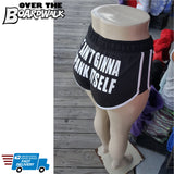 It Ain't Gonna Spank Itself [Booty Shorts, Short Shorts]-Over The Boardwalk Shirts