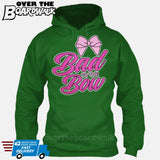 Bad to the Bow - Cheer | Cheerleading | Cheerleader [Hoodie] Hoodie / Kelly Green / Small - Over The Boardwalk Shirts