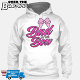 Bad to the Bow - Cheer | Cheerleading | Cheerleader [Hoodie] Hoodie / White / Small - Over The Boardwalk Shirts