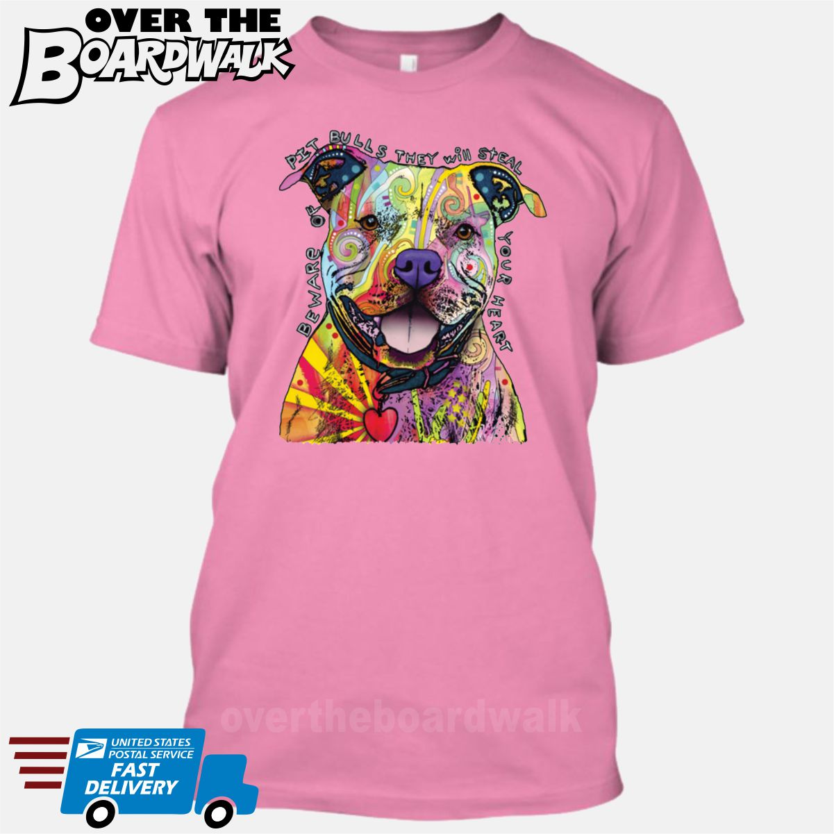 f975588fa Beware of Pit bulls They Will Steal Your Heart - DEAN RUSSO LICENSED [T- ...