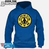 GOKU'S GYM DBZ Gold's Logo Funny Parody [T-shirt/Hoodie/Tank Top] Hoodie / Royal Blue - over-the-boardwalk