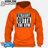 Straight Outta the Gym [T-shirt/Hoodie/Tank Top]-Hoodie-Orange-Over The Boardwalk Shirts
