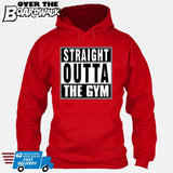 Straight Outta the Gym [T-shirt/Hoodie/Tank Top]-Hoodie-Red-Over The Boardwalk Shirts