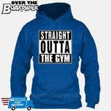 Straight Outta the Gym [T-shirt/Hoodie/Tank Top]-Hoodie-Royal Blue-Over The Boardwalk Shirts