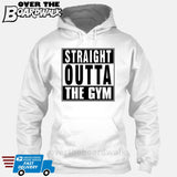 Straight Outta the Gym [T-shirt/Hoodie/Tank Top]-Hoodie-White-Over The Boardwalk Shirts