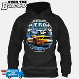 SHELBY GT500 Mustang - FORD LICENSED [T-shirt/Hoodie/Tank Top]-Hoodie-Black-Over The Boardwalk Shirts