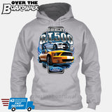SHELBY GT500 Mustang - FORD LICENSED [T-shirt/Hoodie/Tank Top]-Hoodie-Heather Grey-Over The Boardwalk Shirts