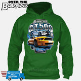 SHELBY GT500 Mustang - FORD LICENSED [T-shirt/Hoodie/Tank Top]-Hoodie-Kelly Green-Over The Boardwalk Shirts