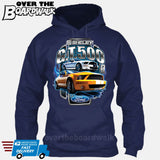 SHELBY GT500 Mustang - FORD LICENSED [T-shirt/Hoodie/Tank Top]-Hoodie-Navy-Over The Boardwalk Shirts