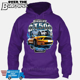 SHELBY GT500 Mustang - FORD LICENSED [T-shirt/Hoodie/Tank Top]-Hoodie-Purple-Over The Boardwalk Shirts