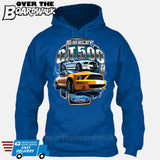 SHELBY GT500 Mustang - FORD LICENSED [T-shirt/Hoodie/Tank Top]-Hoodie-Royal Blue-Over The Boardwalk Shirts
