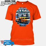 SHELBY GT500 Mustang - FORD LICENSED [T-shirt/Hoodie/Tank Top]-T-Shirt-Orange-Over The Boardwalk Shirts