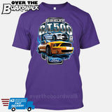 SHELBY GT500 Mustang - FORD LICENSED [T-shirt/Hoodie/Tank Top]-T-Shirt-Purple-Over The Boardwalk Shirts