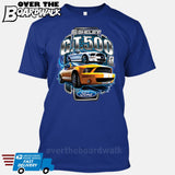 SHELBY GT500 Mustang - FORD LICENSED [T-shirt/Hoodie/Tank Top]-T-Shirt-Royal Blue-Over The Boardwalk Shirts