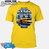 SHELBY GT500 Mustang - FORD LICENSED [T-shirt/Hoodie/Tank Top]-T-Shirt-Yellow-Over The Boardwalk Shirts