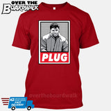 PLUG El Chapo Guzman | Narcos Drug Cartel Lords [T-shirt/Hoodie/Tank Top] T-Shirt / Red - over-the-boardwalk