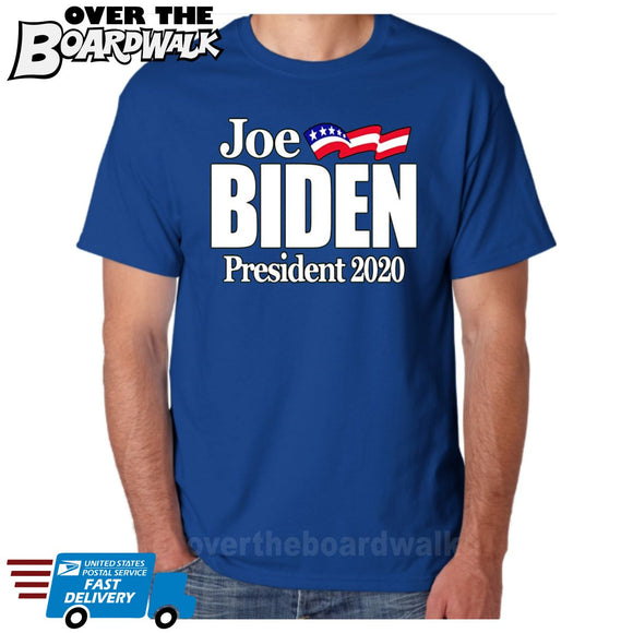 Joe Biden 2020 for President Campaign Elections Shirt Politics [T-Shirt / Tank Top]-Over The Boardwalk Shirts