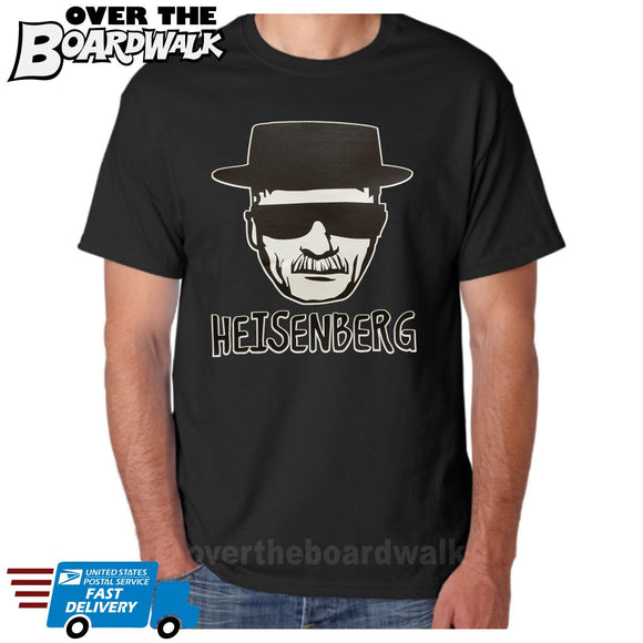 TV Heisenberg Walt White Sketch Art Sunglasses & Hat [T-Shirt / Tank Top]-Over The Boardwalk Shirts