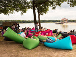 Self-Inflatable Air Lounger (Two sizes / eleven colours available) - Organiza
