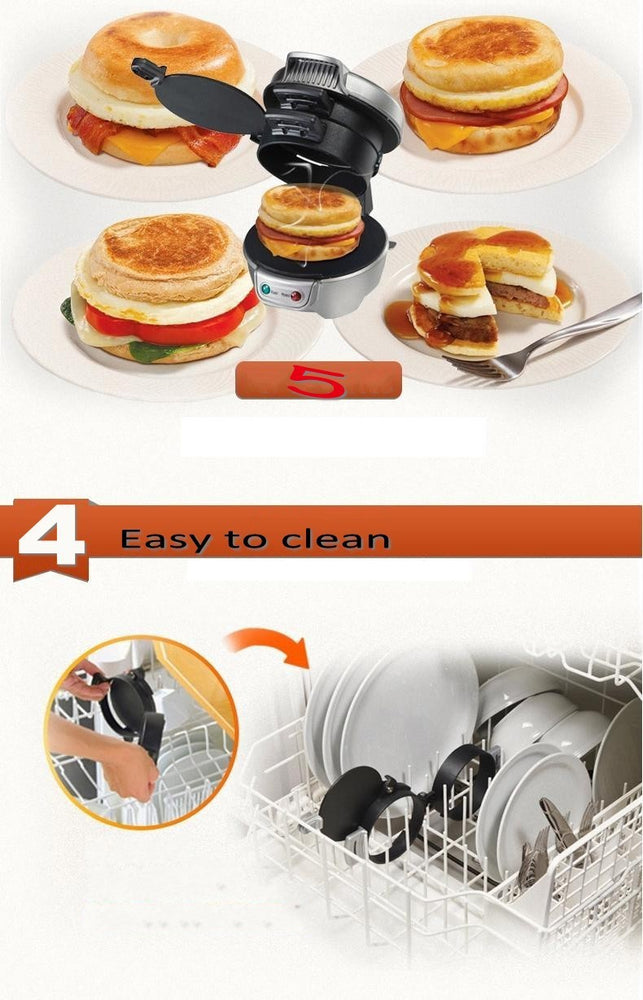 All-in-one Breakfast Sandwich Maker - Organiza