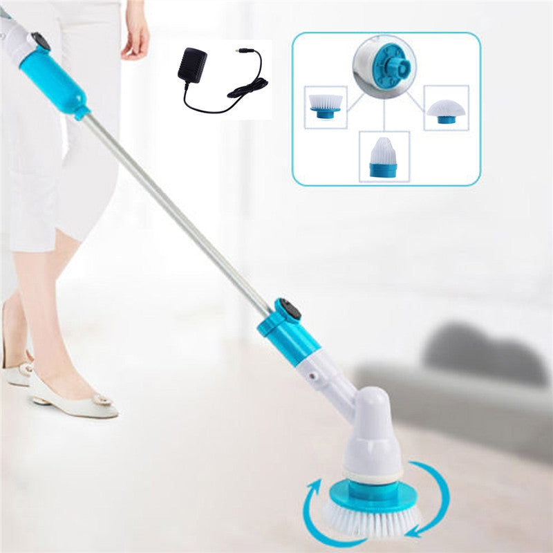 Multifunction Cordless Bath and Tile Power Scrubber for Bathrooms - Organiza
