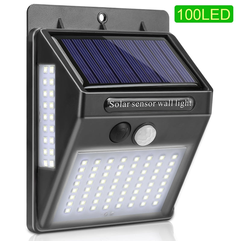 Solar Motion Activated Security Light LED